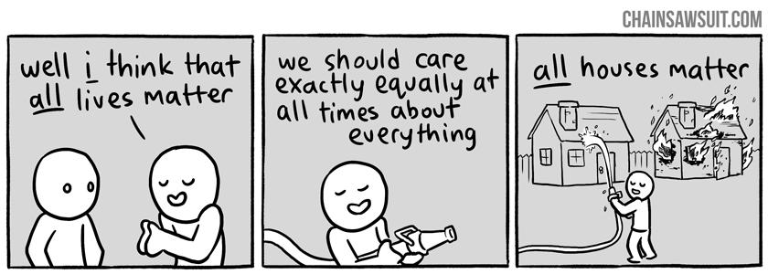all houses matter